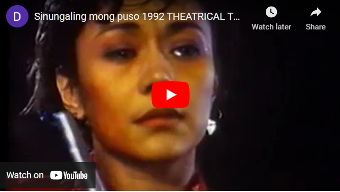 Sinungaling Mong Puso Full Movie (1992)